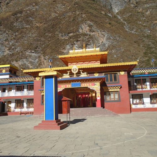Tsum Valley Lama Gaun